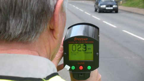 Speedwatch starts up in Bruton