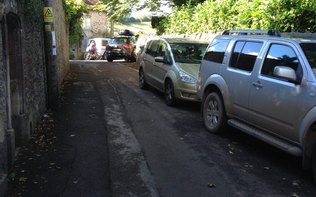 Higher Backway and Patwell Street parking changes