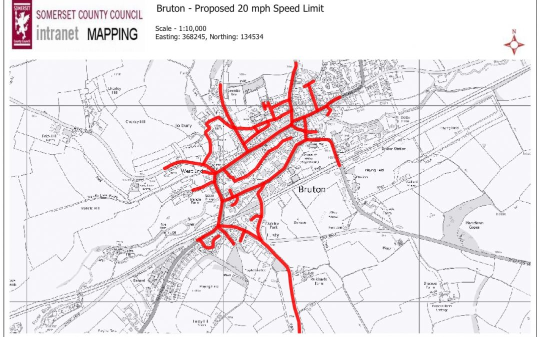 Long-awaited 20mph zone arrives in Bruton