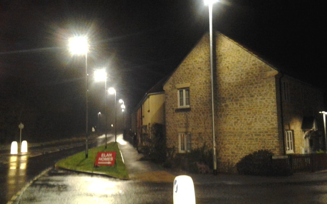 Cuckoo Hill street lighting: the County Council explains…